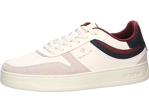 GANT FOOTWEAR DETROIT, Herren Sneaker, Weiß (off white G20), 43 EU (9 UK)