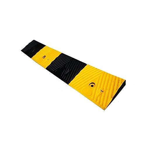 GPWDSN Rampen Für Gelb Und Schwarz Slope Pad Anti-Rutsch-Durable Step Pad Krankenhaus Für Behinderte Rollstuhl-Rampen Fabrik Loading Roller Mobilität Rampen 3-6cm
