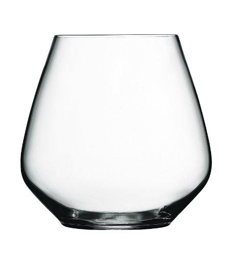 Bormioli Luigi Atelier Confezione Bicchiere Vetro da 59 cl, Vetro, Trasparente, 6 Pezzi