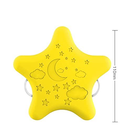 Estrellas románticas, luces de noche de plug-in, control remoto de ahorro de energía, alimentación para bebés, cuidado de los ojos, dormitorio, dormir de noche, luz nocturna, lámpara de ensueño, regal