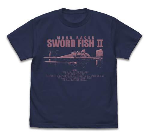 カウボーイビバップ ソードフィッシュII Tシャツ/INDIGO-XL