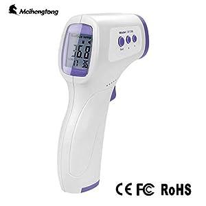 ni/ños Adultos term/ómetro Digital infrarrojo Digital sin Contacto Anoopsyche Term/ómetro de Frente lecturas precisas instant/áneas para beb/és