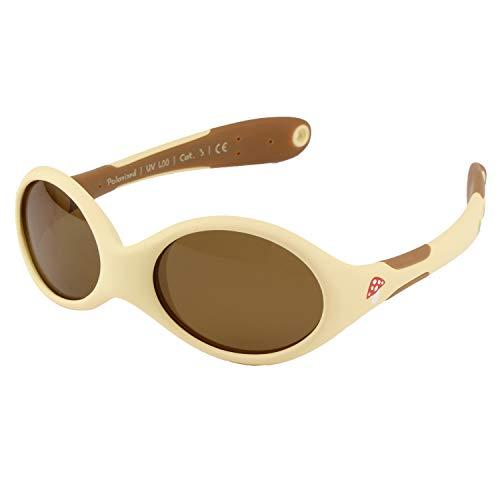 ActiveSol gafas de sol para BEBÉ   NIÑA   100% protección UV 400   polarizadas   irrompibles, de goma flexible   0-24 meses   18 gramos (Talla S, Bosque)