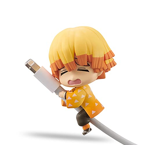 LVMMO Demoň Slayër Charger Bites Anime Cable Buddy Protector Chewers Cute Silicone Data Cable Protective Cover Phone Cable Accessories Suitable for Most Cables