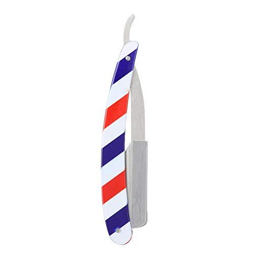 Barber Shaver Holder, Straight Shaver, Folding Shaving Hair Cutting Clipper Colorful,Suitable for Hairdresser, Best Gift for Men Shaver