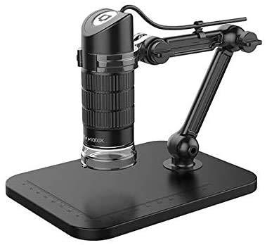 Digitale microscopen, met 8 LED-endoscoop USB 2.0 1000X Zoom Vergrootglas Camera met standaard