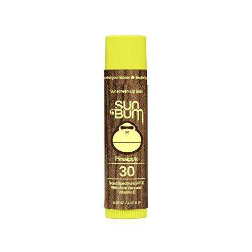 Sun Bum Lip Balm, SPF 30, 0.15 oz. Stick, 1 Count, Broad Spectrum UVA/UVB Protection, Hypoallergenic, Paraben Free, Gluten Free, Vegan