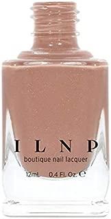 ILNP Portfolio - Soft Camel Neutral Nude Nail Polish, Subtle Holographic, Chip Resistant, 7-Free, Non-Toxic, Vegan, Cruelty Free, 12ml