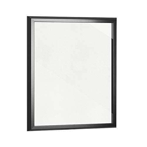 Objektrahmen 2 cm tiefer Bilderrahmen VARIANTO35 80x100 cm Schwarz matt mit Passepartout