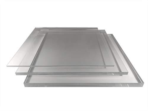 2-8mm Plexiglas Acrylglas Zuschnitt poliert millimetergenauer Zuschnitt kostenlos Platte/Scheibe klar/transparent (6mm, 500x300mm)