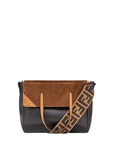 Luxury Fashion | Fendi Dames 8BT303A6CGF15WC Zwart Leer Handtassen | Lente-zomer 20