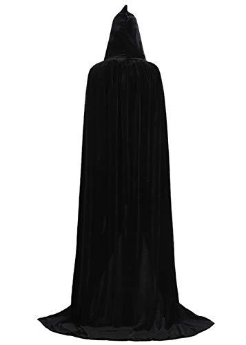 Capa Negra Con Capucha  marca ALIZIWAY
