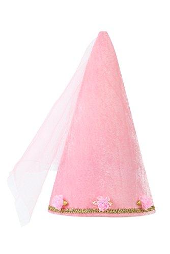 Rose & Romeo Cappellino da Principessa Rinascimentale, da Bambina, Rosa