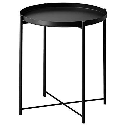 IKEA Gladom 504.119.90 - Bandeja de mesa, color negro