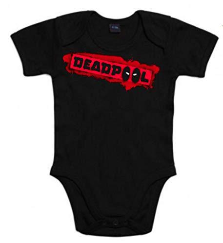 Body de NIÑOS Deadpool heroe 6Meses