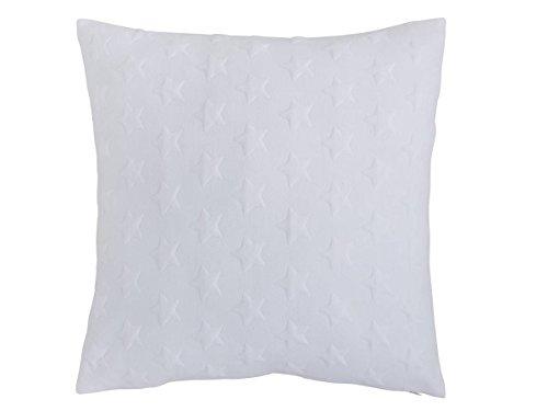 Antilo - Funda de cojín Alegro 45x45 - Color Crudo (Decoración para la Cama o el sofá, complemento Ideal para Dormitorio y salón de diseño Moderno)