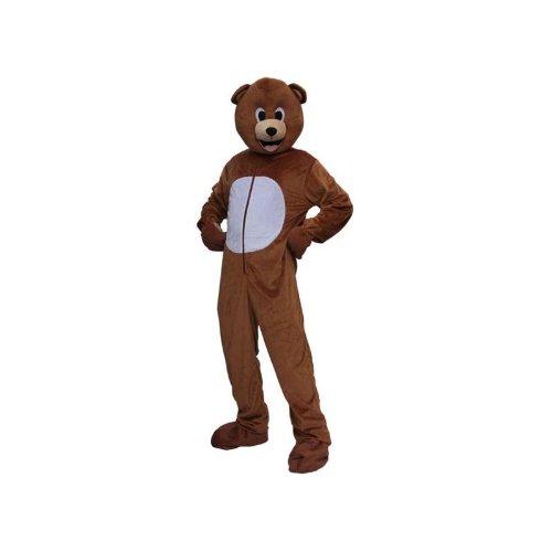 Deguisement adulte peluche ours taille unique