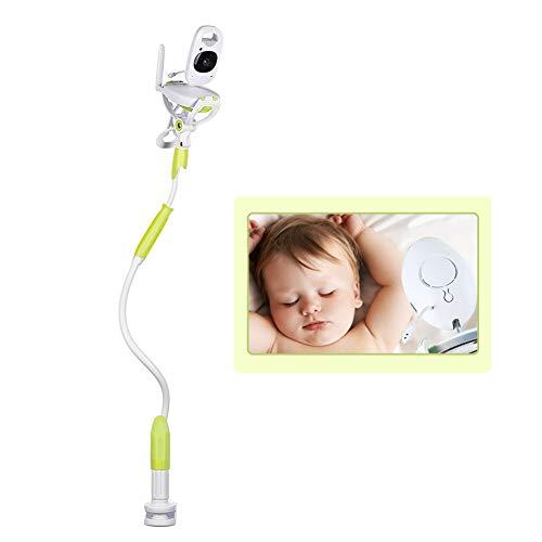 Schimer Baby camerahouder, universele babymonitorhouder, mobiele telefoonhouder, flexibele camerastandaard voor de kinderkamer | geen boren | veilige monitor voor uw baby groen