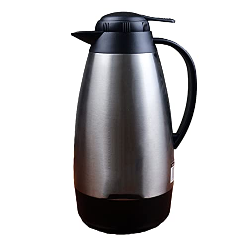Stainless Steel Thermal Carafe Double Walled Vacuum Insulated Coffee Pot 24Hrs Heat&Cold Retention,Lab Tested,for Coffee,Tea,Beverage