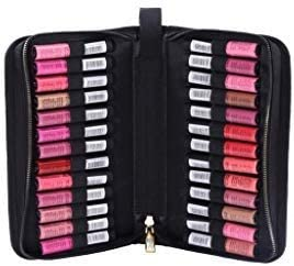 ROWNYEON Portable Lipstick Tester Case Lipstick Stock Case Holder Organization with Carrying Handle Lipstick Makeup B...