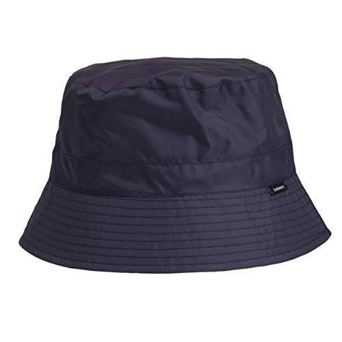 Chapeau de pluie femme classique - Bleu foncé/Rouge - Taille unique