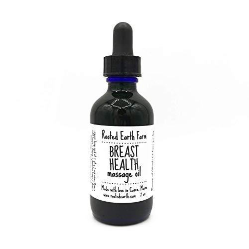 Breast Health Massage Oil 2 oz Lymph Health