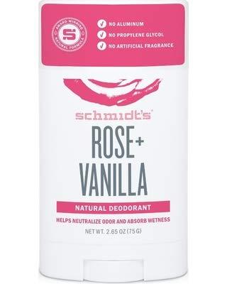 3-Pack Rose Vanilla Many popular brands Natural 2.65 Deodorant Stick oz Be super welcome