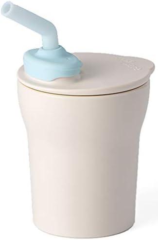 Miniware 1 2 3 Sip Cup Vanilla Aqua product image