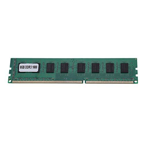 Tonysa DDR3 RAM / 8GB DDR3 1600MHz 240Pin para la Memoria RAM Dedicada de la Placa Madre de Escritorio de AMD