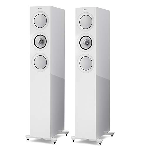 KEF R5 Floor Standing Speakers (R5WH)