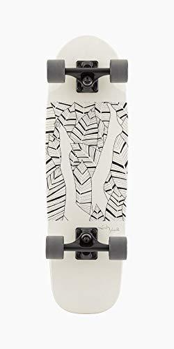 Landyachtz Dinghy Komplett-Skateboard, 71,1 cm (Blunt Garden)