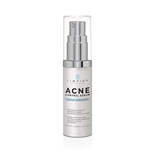 LIMPIDE Face & Body Acne Spot Treatment - 5% Benzoyl Peroxide - Medical Grade, Dermatologist-Tested - Fights Stubborn Acne