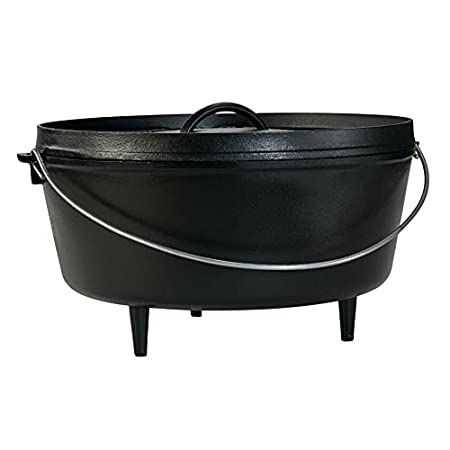 Lodge camp dutch oven with legs