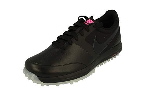Nike Nike Herren Lunar Mont Royal Golfschuhe, Schwarz/Weiß/Rosa (Black Black White Pink Pow), 41 EU