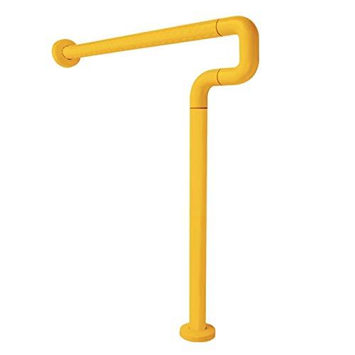 KUNYI WC Sicherheit Geländer, Edelstahl Anti-Rutsch-WC Badezimmer Rack-Elderly Behinderte Schwangere Frauen Unterstützung (Color : White)
