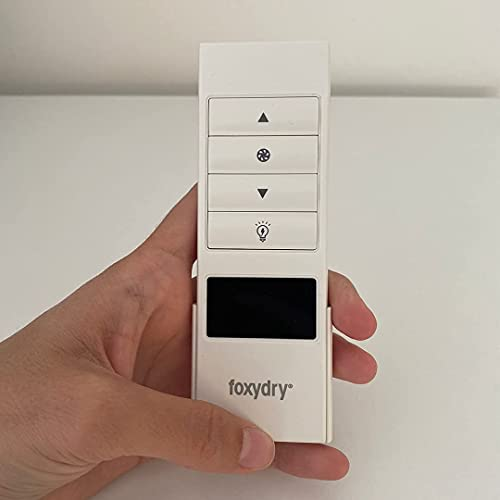 Foxydry Air - Mando a distancia de repuesto para accionamiento de tendedero eléctrico Foxydry