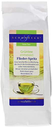 Schuhbeck Grüntee - Flieder Spritz, 3er Pack (3 x 100 g)