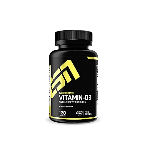 ESN Vitamin D3, 120 Kapseln, Vitamin D hochdosiert