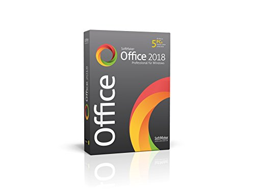 SoftMaker Office Professional 2018 für Windows|Professional|1|unbeschränkt|PC / Notebook|Disc|Disc
