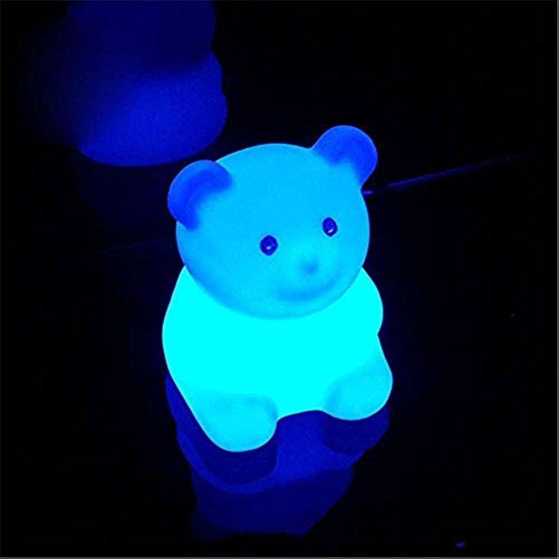 PoJu Stimmungslicht fernbedienung nachtlicht LED tischlampe leuchtend wasserdicht niedlich tierform dekoration bunte farbwechsel lampe, 28  28  33 cm [energieklasse A ++]