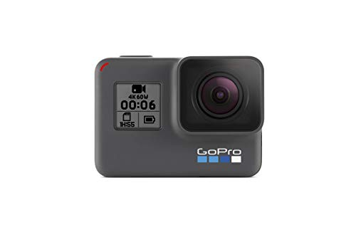 GoPro HERO6 Black – Refurbished Camera — Waterproof Digital Action Camera for Travel with Touch...