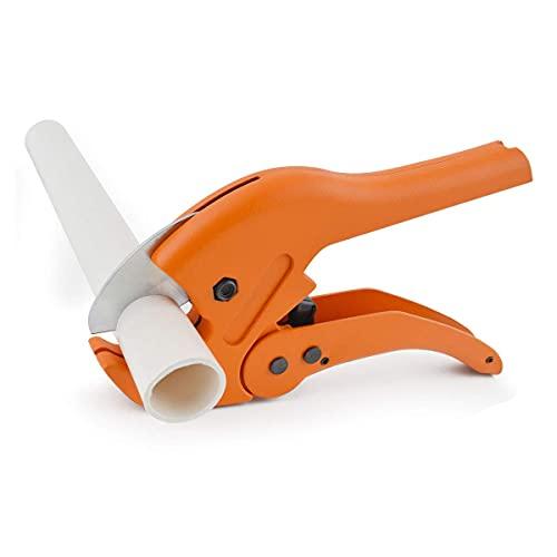 Cortador de tubos de plástico Gunpla de 42 mm para corte de tubos y tubos de 1-5/8 pulgadas/42 mm herramienta para PVC CPVC PEX PE PPR