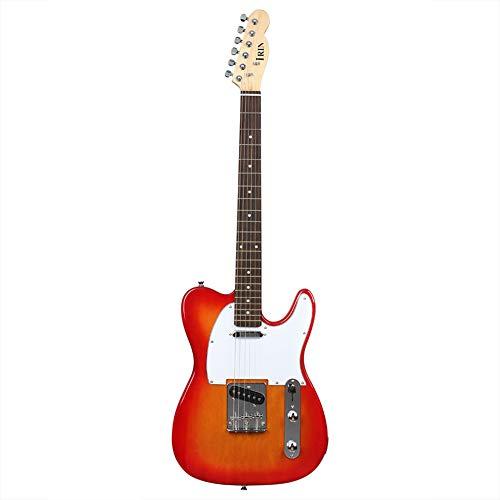 BLKykll R-160 elektrische gitaar beginner volwassen prestaties elektrische bas gitaar instrument uitgerust met bas rugzak, riem, 3 meter kabel, Vingerbord moersleutel, pianomoersleutel.