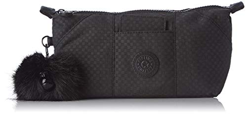 Kipling Art Pouch Porte-Monnaie, 28 cm, 1.5 liters, Noir (Powder Black)