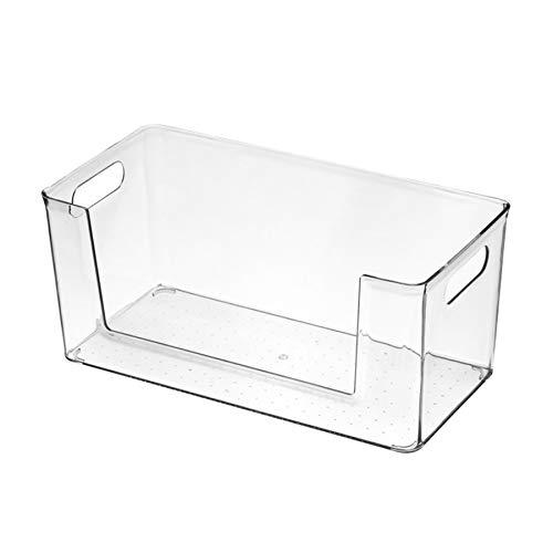 WQMA Pet Escritorio Estudiante Caja De Papelería Organizador Caja De Almacenamiento De Joyas Cosméticas Cesta De Almacenamiento,33 x 16.5 cm