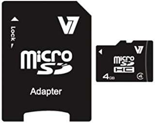 V7 VAMSDH4GCL4R 2E Micro SDHC 4GB Class 4 Speicherkarte
