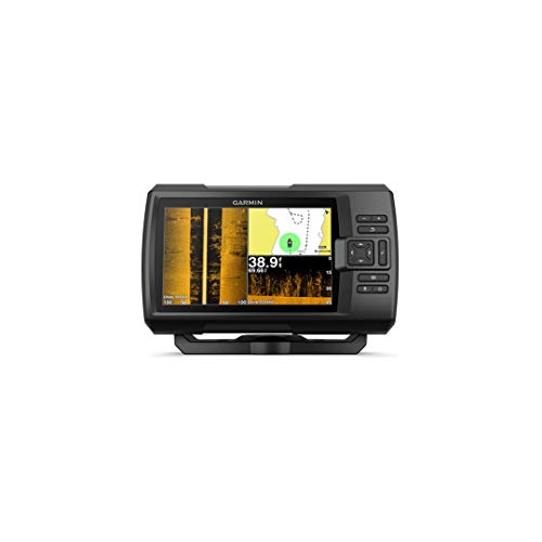 Garmin SONDA GPS Striker Plus 7CV GPS Integrado MAPAS Quickdraw Contours SONDA Chirp CLEARVÜ con TRANSDUCTOR GT52HW-TM