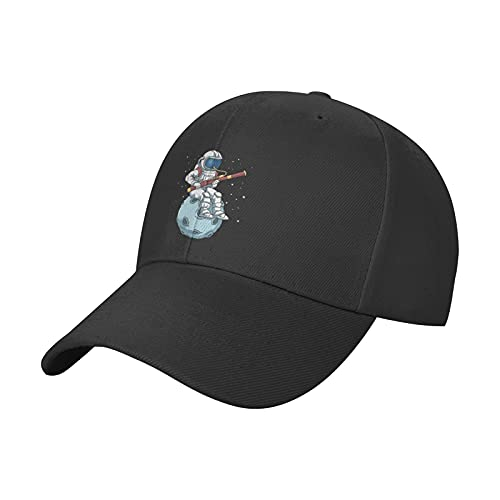 Funny Astronaut Bassoon Band Player Astronaut Hat Baseball Cap Sun Hat, Adjustable Cooling Unisex Dad Hat for Men Women Fashionable Outdoors
