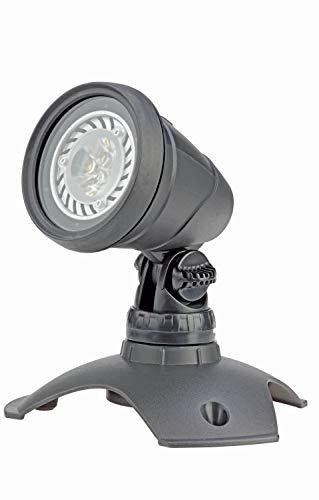 OASE 57034 LunAqua 3 LED Set 1 - Unterwasserbeleuchtung und Gartenbeleuchtung mit warmweißen Lichtakzenten, ideal für Gartenteich, Schwimmteich, Fischteich, Pool, Brunnen und Außenbereich