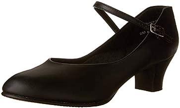 Capezio Women's Jr. Footlight Character Shoe,Black,9 M US